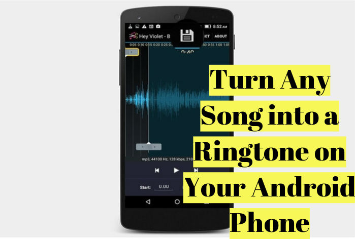 turn any song into a ringtone